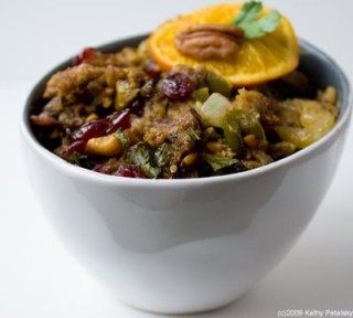 vegan-stuffing, vegan recipe, vegan thanksgiving, vegan dinner,