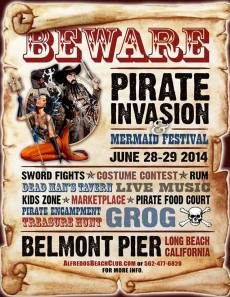 Pirate Invasion & Mermaid Festival - Belmont Pier Long Beach