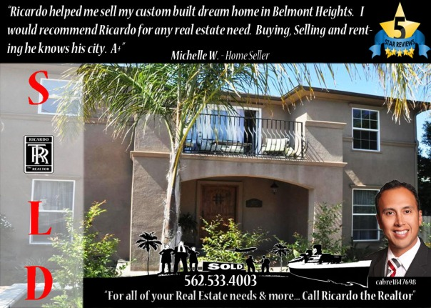 5 Star Rated - Ricardo the Realtor - Long Beach Top Team