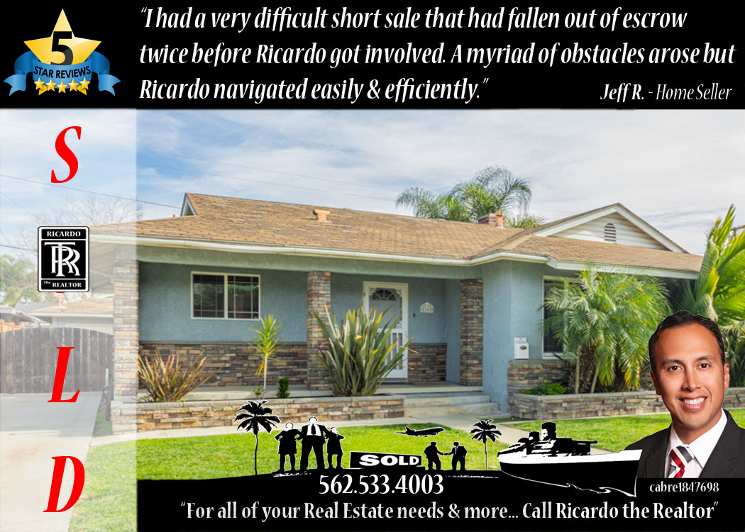 Ricardo the Realtor 562 533 4003 - 5 Star Long Beach Homes & Real Estate Agent Los Altos Team