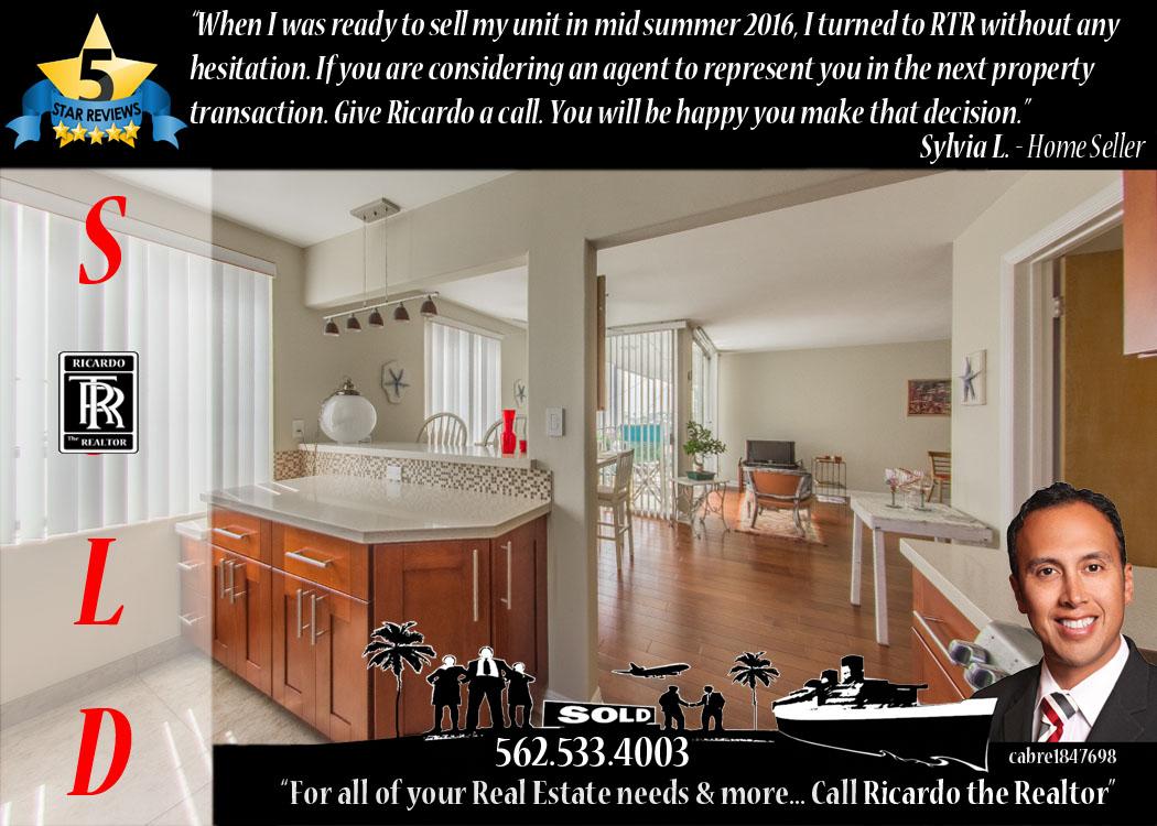 Ricardo the Realtor 562 533 4003 - 5 Star Review - Long Beach Homes & Real Estate Agent